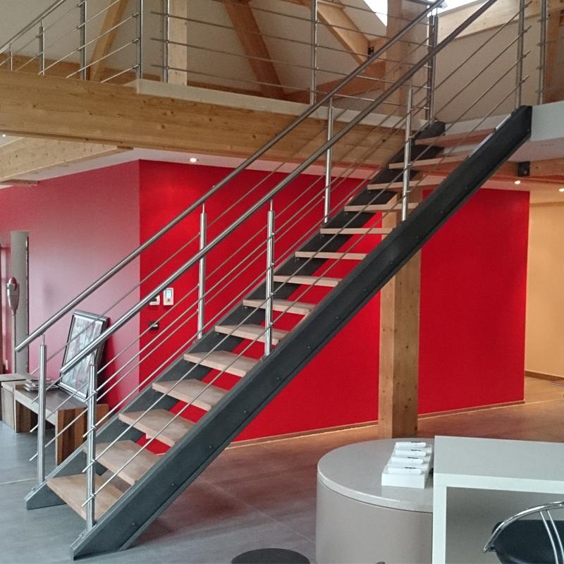 escalier intérieur moderne